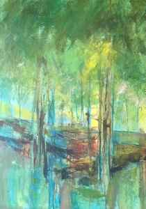 Summer Woodland by Audrey Imber