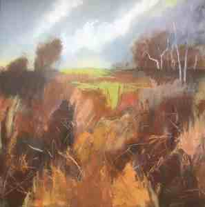 Dunwich heath by Audrey Imber