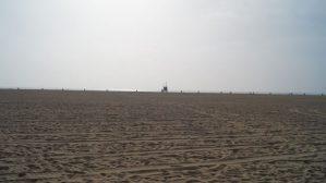 breite Strände in Santa Monica