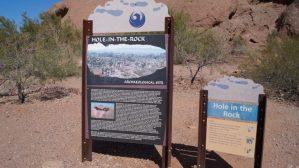 Hole in the Rock, Phoenix Arizona