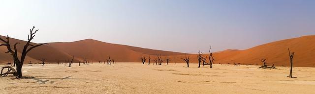 Namibia und die roten Dünen