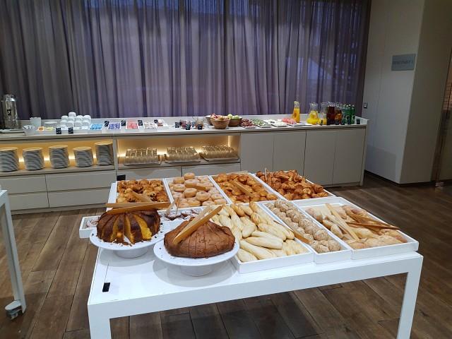 Frühstücksbuffet im AC Hotel Iberia Las Palmas