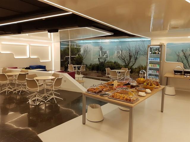 Buffet in der Lounge von Mallorca: Sala Vip Mediterraneo