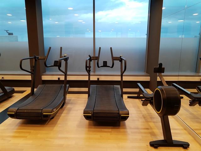Fitness im Radisson BLU Frankfurt