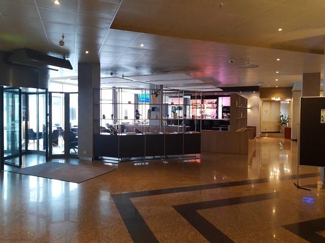 edle Lobby Crowne Plaza Frankfurt