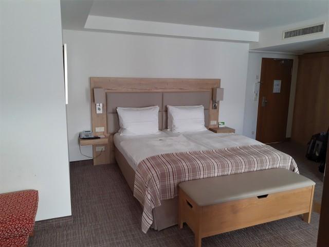 Bett im Hotel Nürnberg