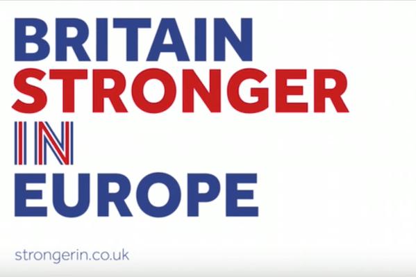 Case for Remain Stronger In Logo