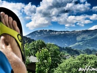 oofos sandale kitzbüheler alpen dynafit trailrunnning verletzung pause