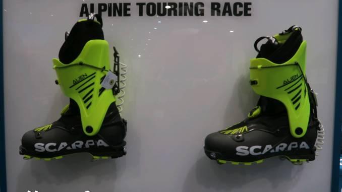 scarpa, alien, skimo, skitour,