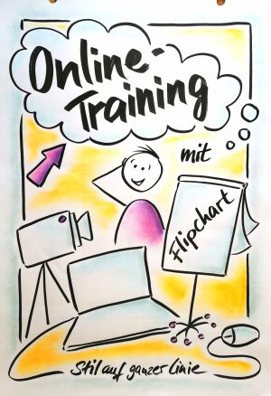 Flipchart Onlinekurs, Flipchart Online-Training