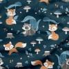 tissu-coton-motifs-renards-et-ratons-laveurs