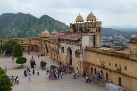 Indien_Jaipur_Amber_Innenhof