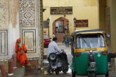 Indien_Jaipur_Tor mit Guru