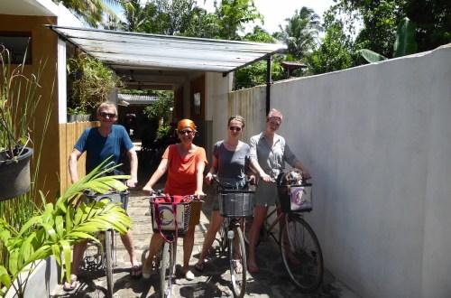 Galle Fahrrad family | aufmerksam reisen