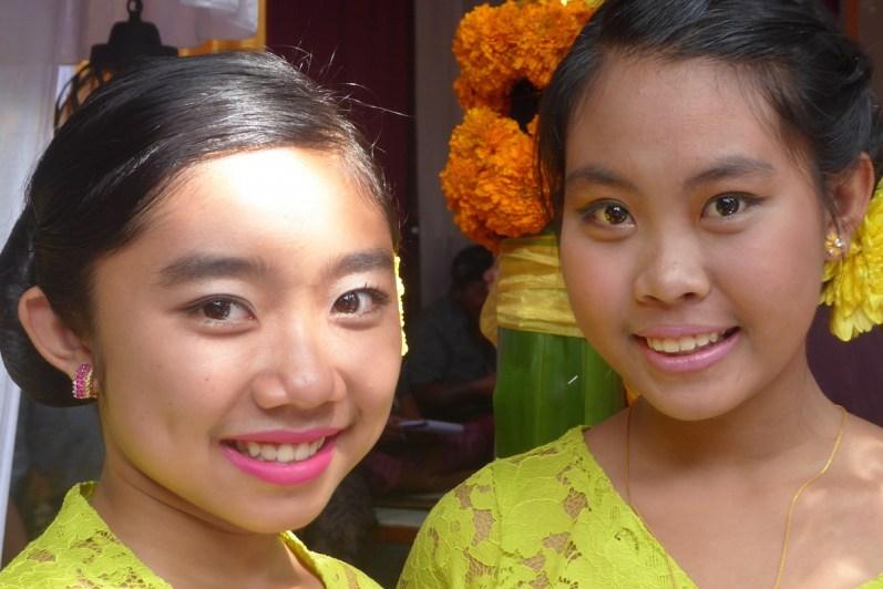 Bali-Hochzeit-Maedels