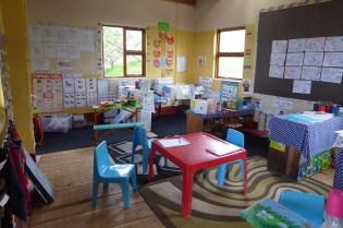 Suedafrika-Bulungula-Preschool-Klassenzimmer