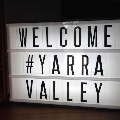 Australien-YarraValley-Welcome