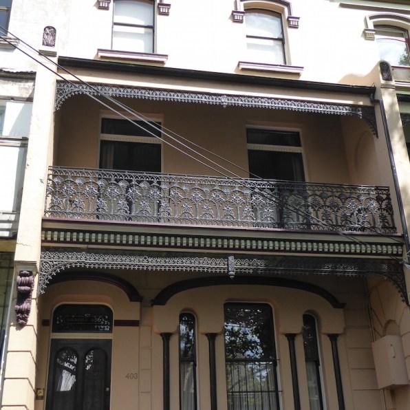 Australien-Sydney-Brickfield-Hill-Fassade