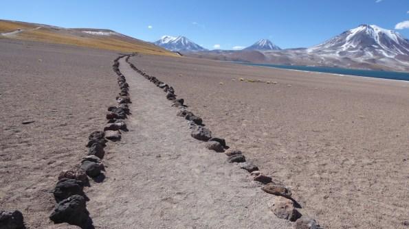 Chile-SanPedroAtacama-Altiplanico-Weg