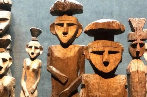 Chile Santiago MuseoPrecolombino Grabfiguren | aufmerksam reisen