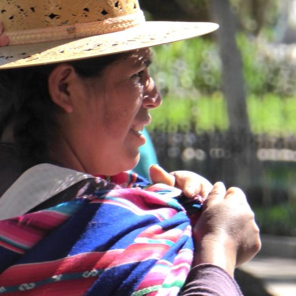 Bolivien-Sucre-Indigena