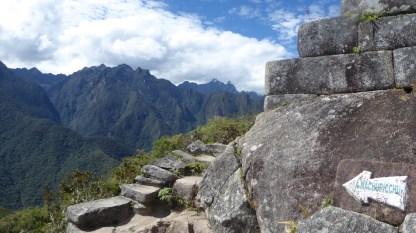 Peru-MachuPicchu-WaynaPicchu-Weg