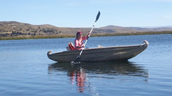 Peru-Titicacasee-Paddeln-Elke