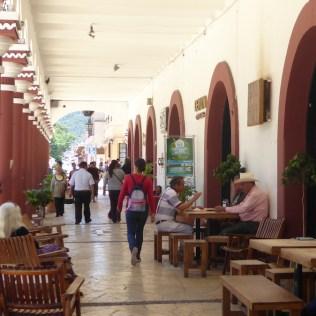 Arkaden in San Cristobal de las Casas