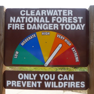 USA-Clearwater-NationalForest-FireWarning