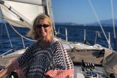 19 Monate auf Weltreise: Elke Zapf auf der Segelyacht