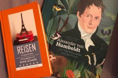 Bücher Rafik Schami und Alexander von Humboldt