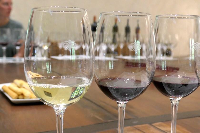 Weinprobe im Weingut Via Manent