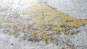 Seekarte Tierra del Fuego