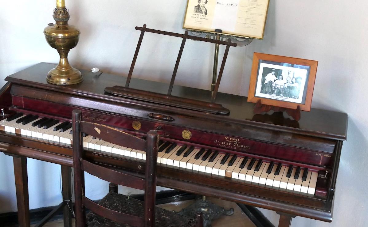 Klavier im Museo Claudio Arrau in Chillan