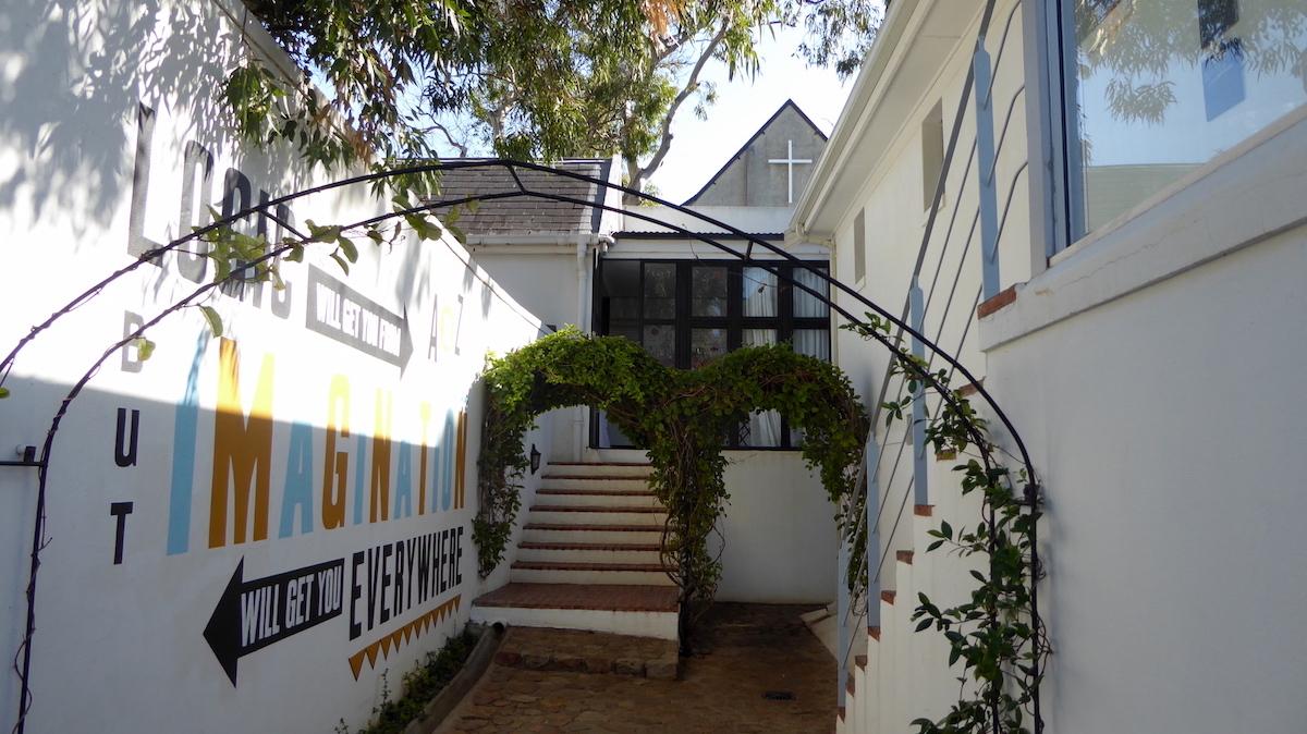 Eingangsbereich von InAweStays in Kapstadt in Südafrika