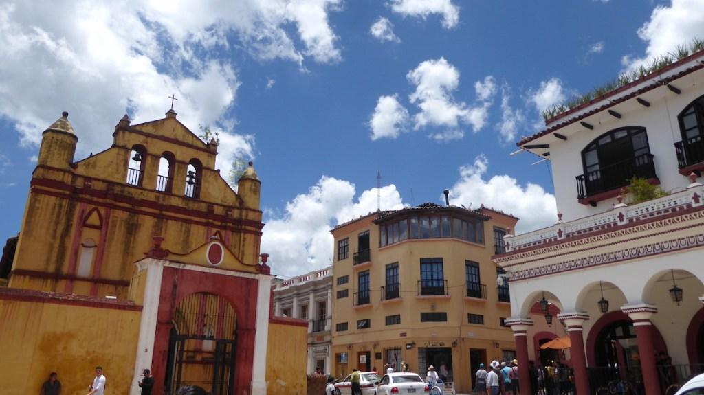 Marktplatz von San Cristobal de las Casas in Mexiko