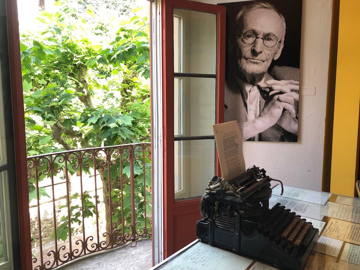 Schreibmaschine von Hermann Hesse