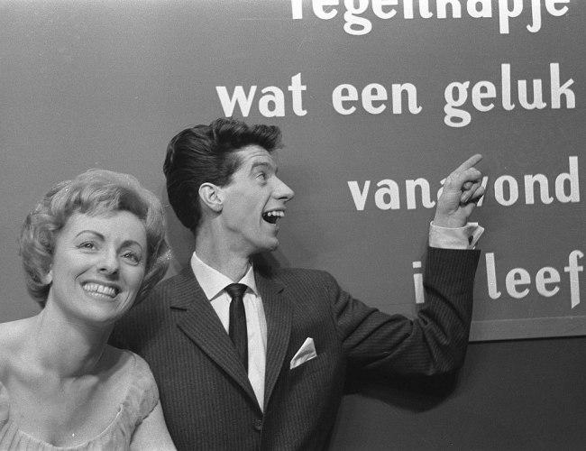 Niederländischer Vorentscheid 1963: Die Spieldose steht still, wenn Dein starker Arm eswill
