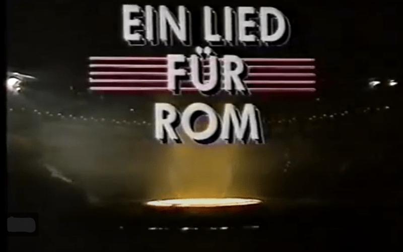 Ein Lied für Rom 1991: Und wir lernten zu verlieren