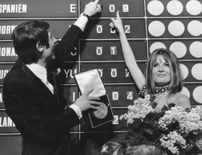 A Song for Europe 1967: Barfuß imRegen