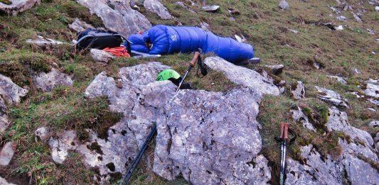 Wild campen und Biwakieren im Gebirge