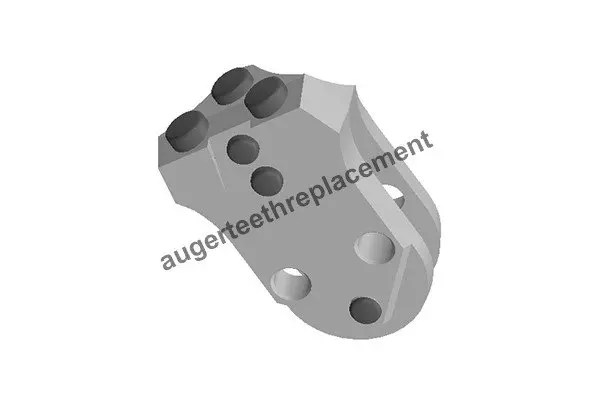 C4hdf-30mm, Conical carbide teeth for rock augers