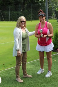 Lisa Edwards Ladies Singles Champion 2016