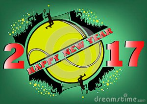 happy-new-year-tennis-ball-fans-vector-illustration-80648856