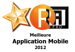 La meilleure application mobile 2012