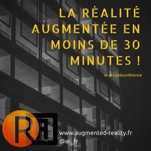 La réalité Augmentée en moins de 30 minutes !