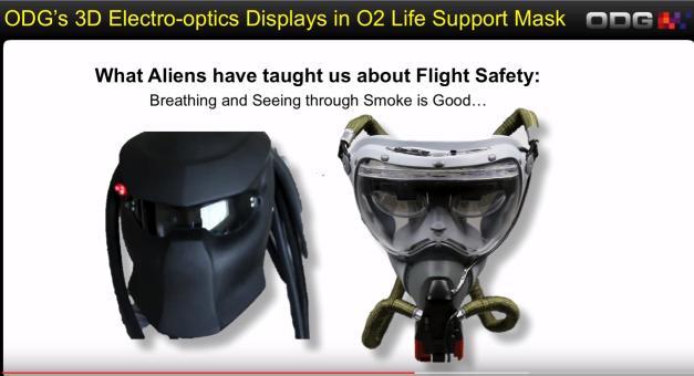 Masque pour équipes d'urgence de ODG