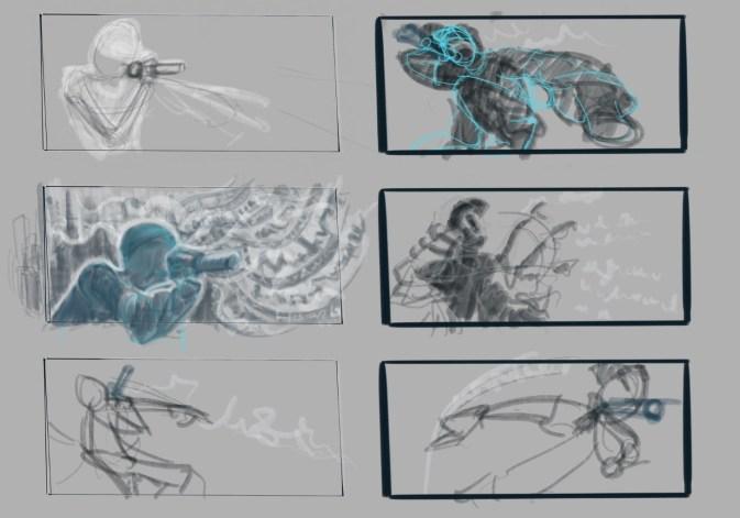 MC sketches
