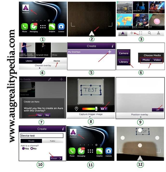 how-to-use-aurasma-ar app
