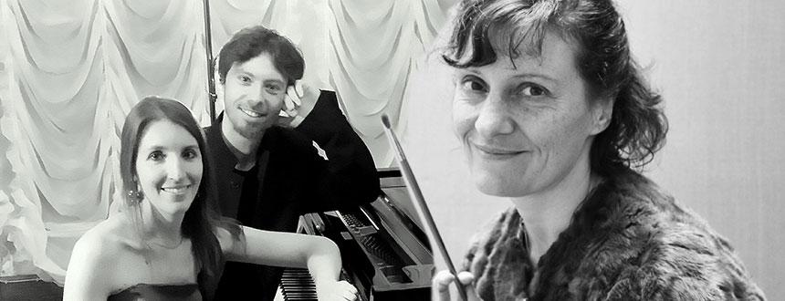 Duo Eclypse & Céline Gaucher – De la musique au pinceau
